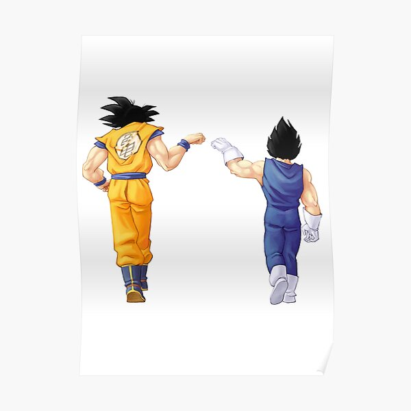 Funny Vintage Trending Awesome Goku and Vegeta 3D All Over Printed