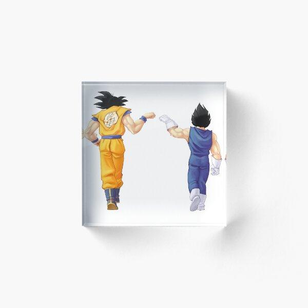 Goku Vegeta - Saiyen Acrylic Block