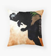 On The Prowl Throw Pillow
