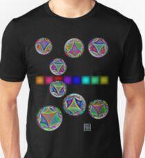 """Poincaré Hyperbolic Disk Arcs""© T-Shirt"