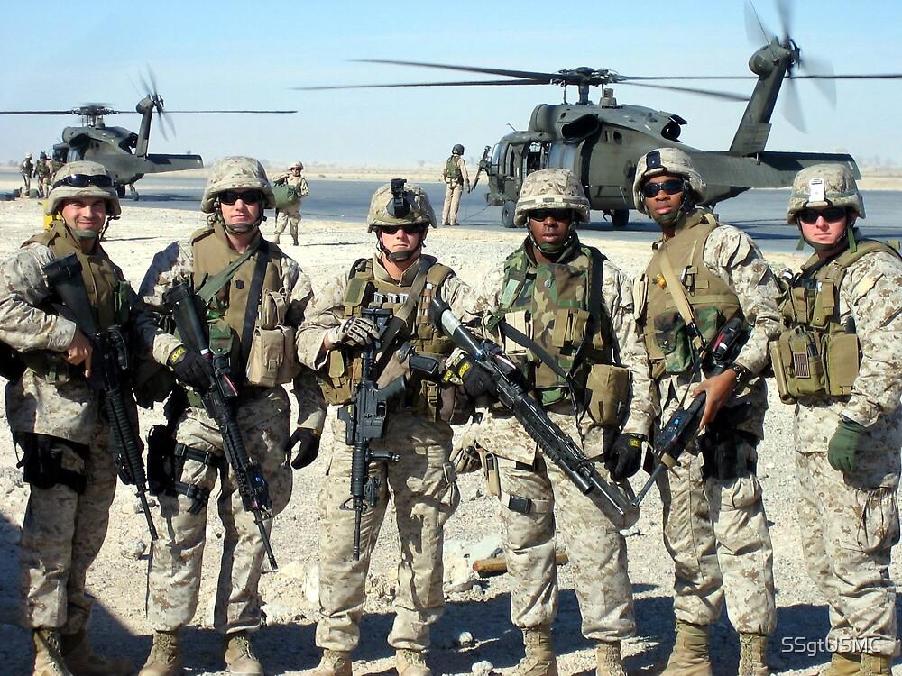 Marines (SPTT) Team 1/1 Fighting Power on Call! by SSgtUSMC