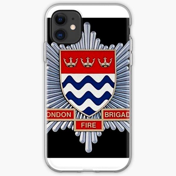 London Fire Brigade iPhone Soft Case