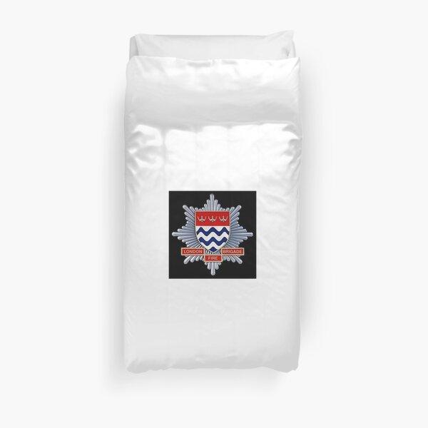 London Fire Brigade Duvet Cover