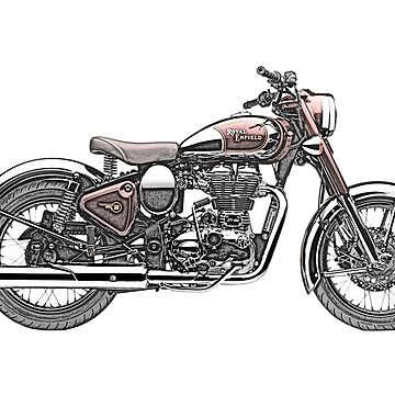 Royal Enfield Motorcycle by surgedesigns