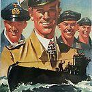 Volunteer for the Navy...vintage German Kriegsmarine by edsimoneit