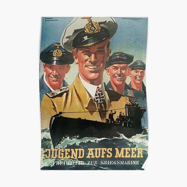 Volunteer for the Navy...vintage German Kriegsmarine Poster