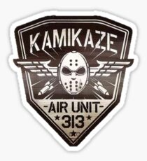 Eminem Kamikaze Air Limit 313 - Fanart Sticker