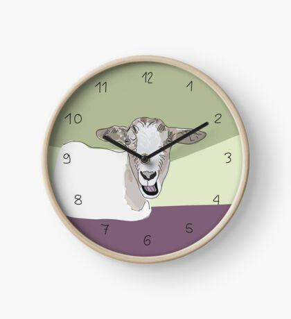 Ziege Uhr