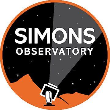 Simons Observatory Logo by Spacestuffplus
