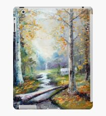 Leaving the Woodland Creek iPad Case/Skin