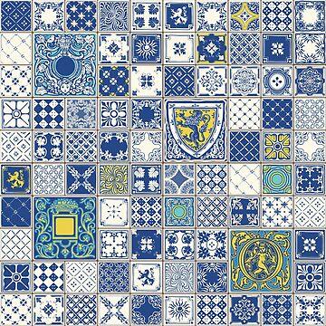 Azulejos Azulejo Lisbon Portugal by aurielaki