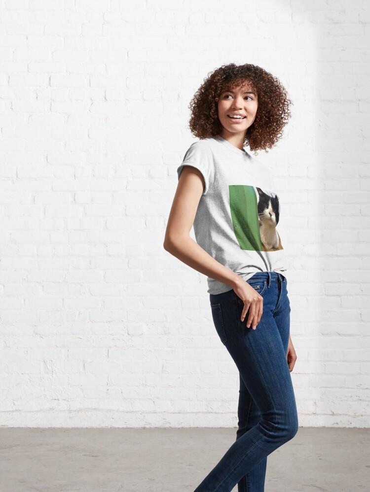 Alternative Ansicht von Kater Teddi Classic T-Shirt