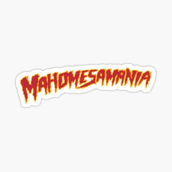 Mahomesamania Sticker
