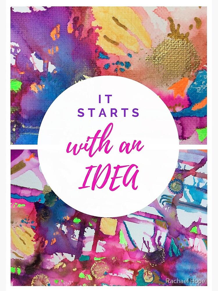 Abstract & Motivational Notebook  by RachaelHope90