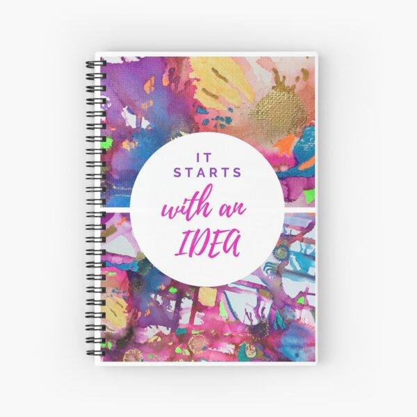 Abstract & Motivational Notebook  Spiral Notebook