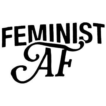 Feminist AF by coinho