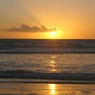 Setting Sun - Reflections by Gloria Abbey