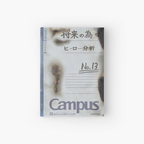 Verbrannt Boku no Hero Academia Izukus Notebook von All Might unterzeichnet Notizbuch