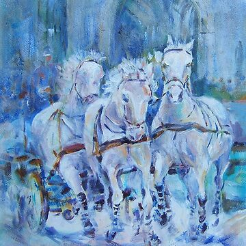 Horses Stepping Out - Art Gallery 29 by ballet-dance