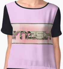 Dynasty Designs SUNSET1.ROSEGOLD Chiffon Top