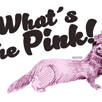 What's the pink? by belettelepink