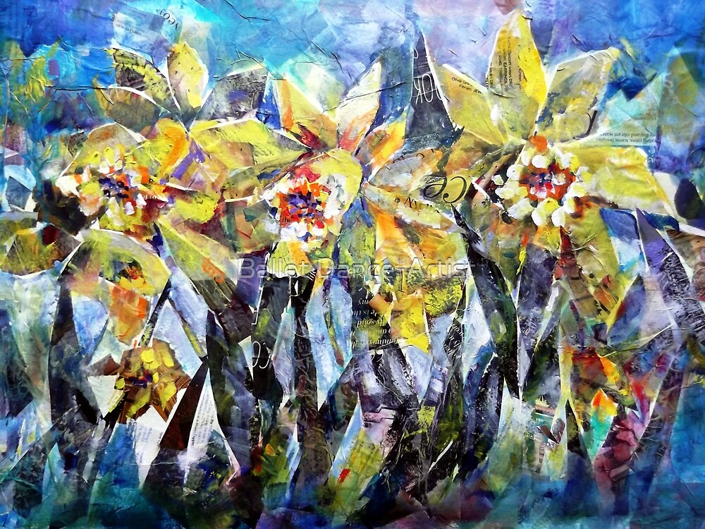 Daffodils - Flowers Art Gallery by Ballet Dance-Artist