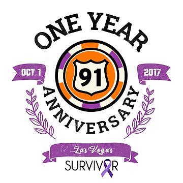 Las Vegas Shooting Survivor    1 Year Anniversary   Route 91 Harvest Festival by PureCreations