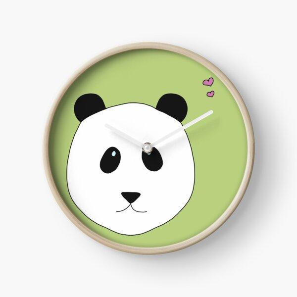 Panda Love grün Uhr