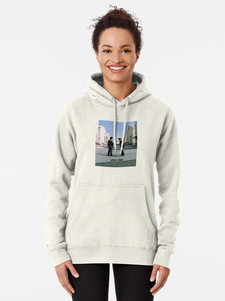 Alternate view of wish you were here Pullover Hoodie