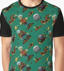 Zombies Ate My Neighbors SNES  |  large Graphic T-Shirt