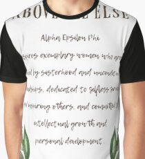 Above All Else Graphic T-Shirt