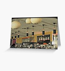 The Diner Greeting Card