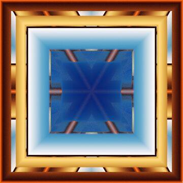 A blue window by TiiaVissak