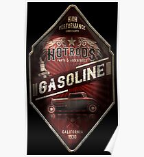 Hot Rod Gasoline Poster