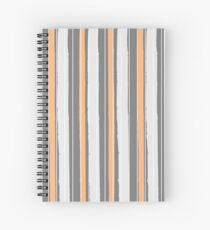 Fashion Super-cool Stylized Stripes Spiral Notebook