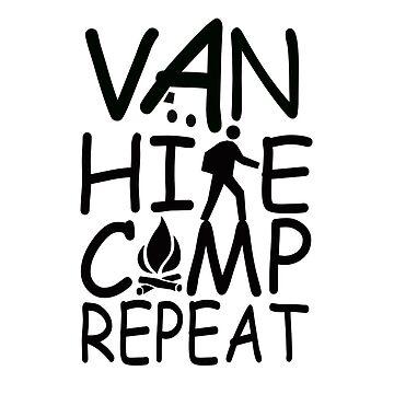 Van Hike Camp Repeat by MyLovelyVan