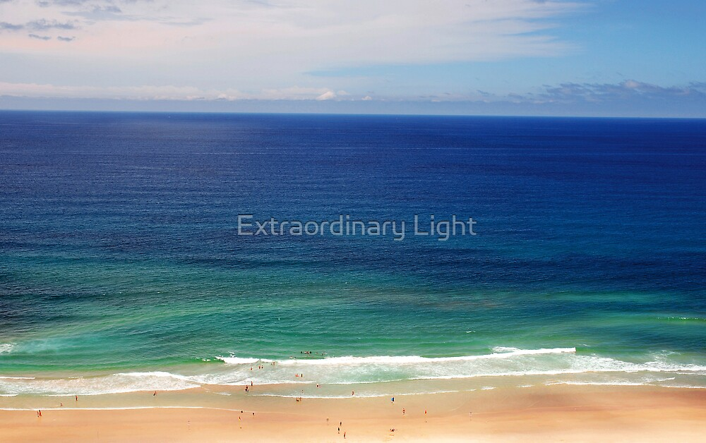 Late Afternoon Ocean by Extraordinary Light
