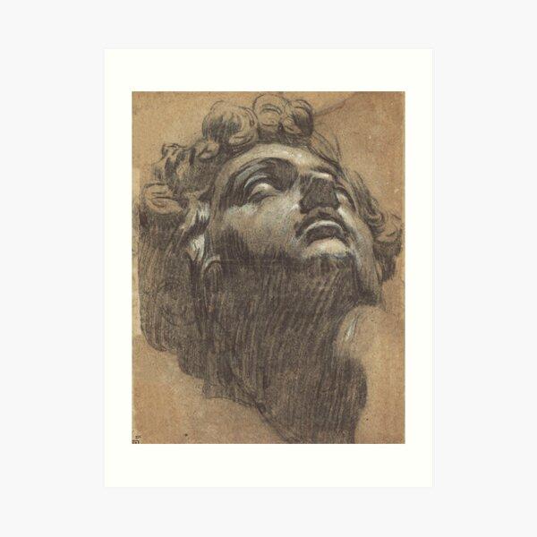 Head of Giuliano de' Medici by Tintoretto Art Print