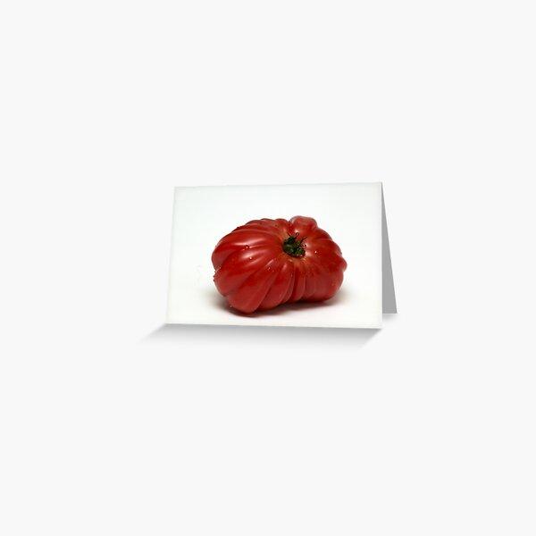 Montserrat  Tomato Greeting Card