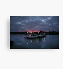 Mannum Sunrise Canvas Print