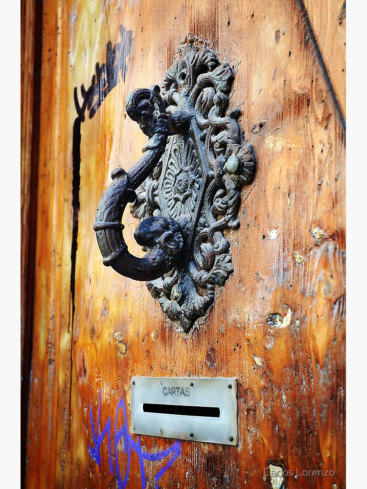 Door Knocker at Barri Gotic by carloslorenzo