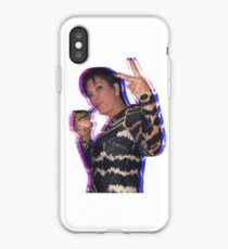 Trippy Kris Jenner iPhone Case