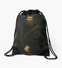 Lorenzo Soranzo by Tintoretto Drawstring Bag