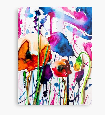 BAANTAL / Pollinate / Evolution #10 Metal Print