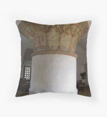Ny church, Nyker, Bornholm, Denmark Throw Pillow