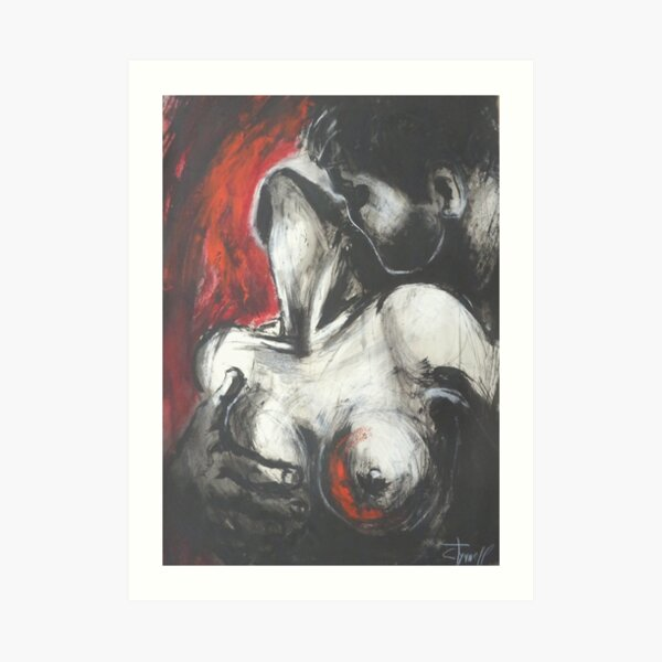 Lovers - Powerful Emotions Art Print