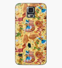 Three Happy Chappies! Case/Skin for Samsung Galaxy