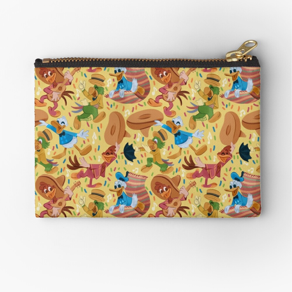 Three Happy Chappies! Zipper Pouch