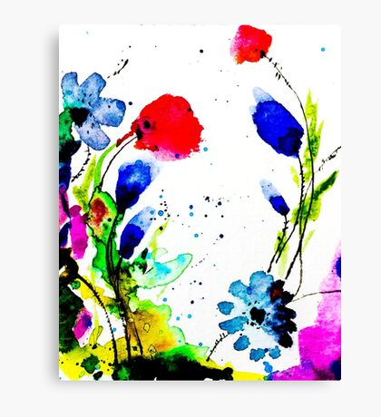 BAANTAL / Pollinate / Evolution #11 Canvas Print