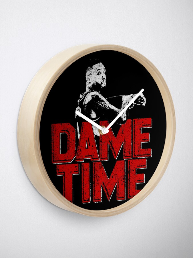 Alternate view of Dame Time Clock
